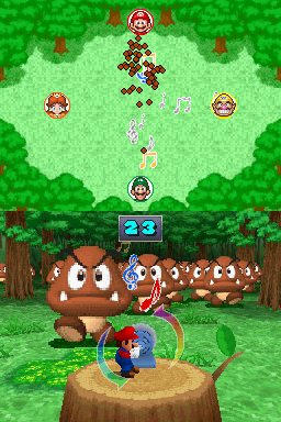 4-player mode for Call of the Goomba in Mario Party DS