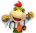 Icon of Dr. Bowser Jr. from Dr. Mario World