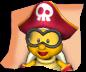 Pirate Lakitu's mugshot from Dance Dance Revolution: Mario Mix