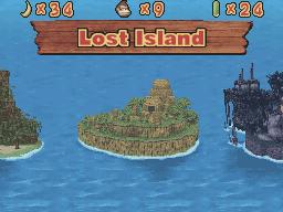 Lost Island in DK: Jungle Climber.