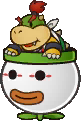 Bowser Jr. from Paper Mario: Sticker Star