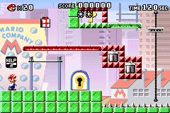 Level 1-3 in Mario vs. Donkey Kong