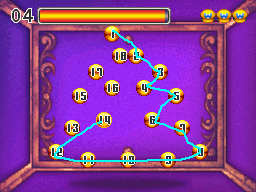 Lotsa Dots, a minigame from Wario: Master of Disguise