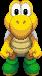 Sprite of a Big Koopa Troopa from Mario & Luigi: Superstar Saga + Bowser's Minions