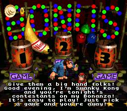 Diddy Kong in Swanky's Bonus Bonanza.