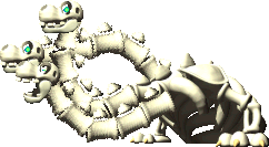Sprite of the Bone Dragon from Yoshi's Story