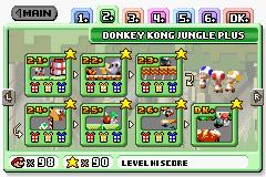Donkey Kong Jungle Plus from Mario vs. Donkey Kong.