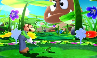 A screenshot of Mario Golf: World Tour