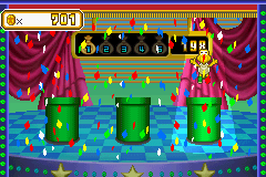 The Gamble mini-game, Watch 'em from Mario Party Advance