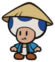 Oarsman in Paper Mario: The Origami King
