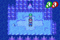 Hidden? Block location in Oho Ocean Seabed, in Mario & Luigi: Superstar Saga.
