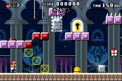 Level 4-1+ in Mario vs. Donkey Kong