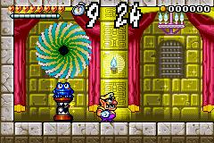 A screenshot of the beginning of Golden Passage.