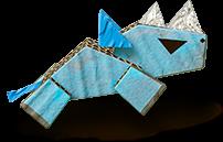 Artwork of Rhinono from Yoshi's Crafted World