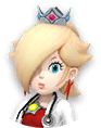 Icon of Dr. Fire Rosalina from Dr. Mario World