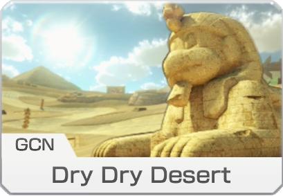 GCN Dry Dry Desert