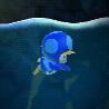 NSMBW Blue Toad Penguin Suit Screenshot.png