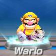 Wario in tennis from Mario Sports Superstars