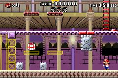 Level x-4 in Mario vs. Donkey Kong