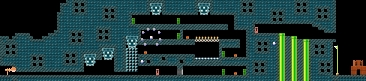 Layout of Toadette: Treasure Tracker in Super Mario Maker.