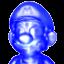 Shadow Mario from Mario Golf: Toadstool Tour.