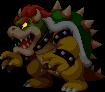 Sprite of Bowser (Dark) from Mario & Luigi: Bowser's Inside Story + Bowser Jr.'s Journey.