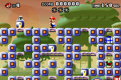 Level x-5 in Mario vs. Donkey Kong