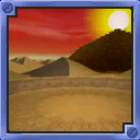 Quicksand Desert arena from Mario Party 5