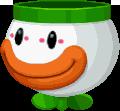 Sprite of the Koopa Clown Car from Mario & Luigi: Paper Jam.