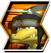 Kopter's character selection icon from Donkey Kong Barrel Blast.
