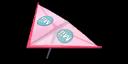 Pink Mii's Super Glider in Mario Kart 7