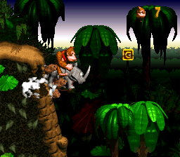 The G in Jungle Hijinxs from Donkey Kong Country