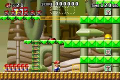 Level 2-mm in Mario vs. Donkey Kong