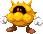 Sprite of a Yellow Virus from Mario & Luigi: Superstar Saga + Bowser's Minions.