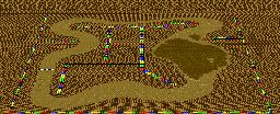 Choco Island 2 from Super Mario Kart.