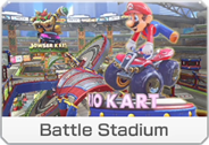 Battle Stadium icon from Mario Kart 8 Deluxe.