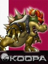 Super Smash Bros. Melee Artwork: Bowser