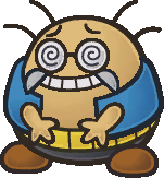 Wonky from Paper Mario: The Thousand-Year Door.