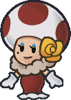 Toodles from Paper Mario: The Thousand-Year Door