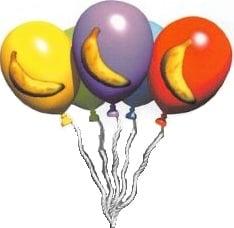 Banana Balloons artwork