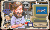 Don Lloyd in the PC release of Mario's Time Machine
