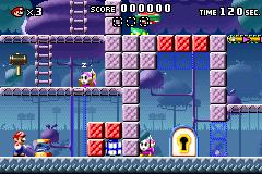 Level x-11 in Mario vs. Donkey Kong