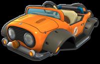 Tanooki Kart, from Mario Kart 8.