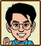 Icon for Mizu Pin, one of the famous people who created microgames for WarioWare: D.I.Y.