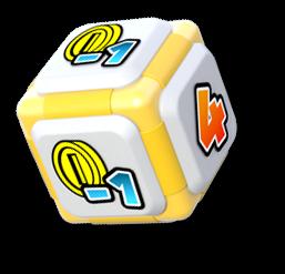 Wario's Dice Block from Mario Party: Star Rush
