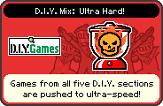 Ultra Hard portrait from WarioWare: D.I.Y.
