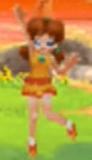 Daisy with a skirt