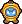 A Goomdiver's overworld sprite from Mario & Luigi: Superstar Saga.