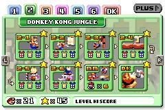 Donkey Kong Jungle in Mario vs. Donkey Kong