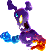 Model of Cackletta's Soul from Mario & Luigi: Superstar Saga + Bowser's Minions.